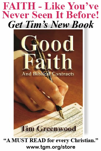 Get Good Faith & Biblical Contracts. It's faith like you've never seen before!